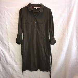 Boden Jena jersey weekend shirt dress size 6 R